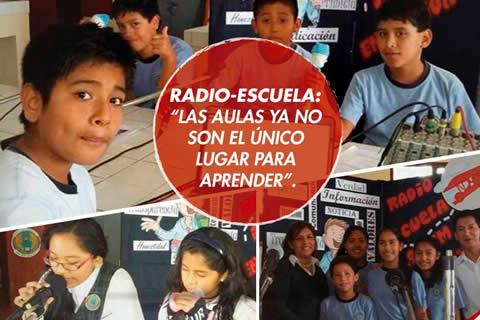 Radio Escuela, periodistas escolares en acción