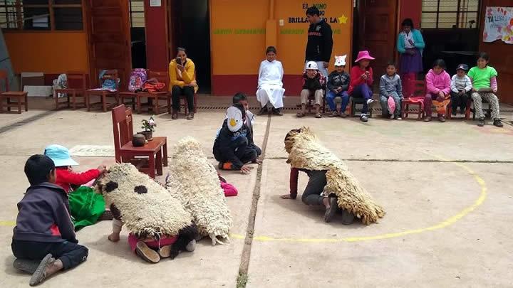 La lectoescritura desde las canciones tradicionales andinas