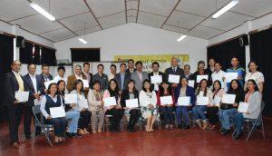 Cincuenta docentes de Chachapoyas culminan diplomado en proyectos de innovación educativa