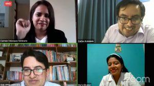 Docentes expusieron iniciativas en la educación a distancia en webinar del FONDEP