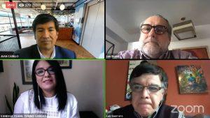 FONDEP realizó webinar con expertos sobre foro virtual