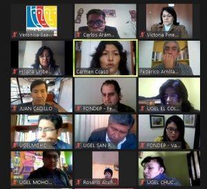Puno: Promueven intercambio de experiencias innovadoras para la enseñanza virtual en el contexto actual