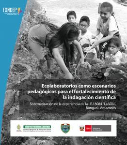 """Ecolaboratorios como escenarios pedagógicos para el fortalecimiento de la indagación científica. Sistematización de la experiencia de la I.E.18084 """"La Villa"""", Bongará, Amazonas"""