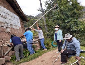 Registro de iniciativas pedagógicas: docentes de Maribamba instalan altoparlantes para retroalimentar a estudiantes