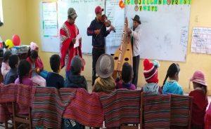Registro de iniciativas pedagógicas: profesor promueve la identidad cultural a través de costumbres y tradiciones