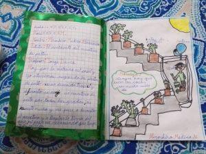 Registro de iniciativas pedagógicas: diarios de pandemia, una iniciativa para fomentar la escritura