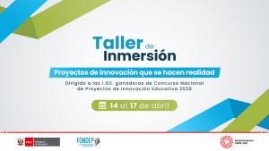 Concurso de innovación educativa: ganadores recibirán taller de inmersión a cargo de expertos en educación