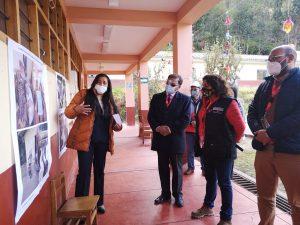 Cusco: Viceministra Killa Miranda visitó escuela ganadora de Concurso de Proyectos de Innovación 2020