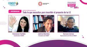 FONDEP presentó 3° edición de Concurso Nacional de Proyectos de Innovación Educativa