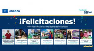FONDEP saluda a docentes innovadores ganadores de concurso promovido por UNESCO Perú y Fundación BBVA